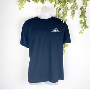 Official Orange County Choppers Black Crewneck Tee